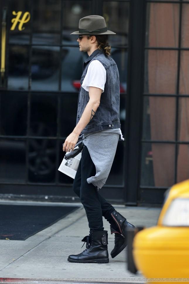 Jared Leto - New York (28 Augosto 2013)