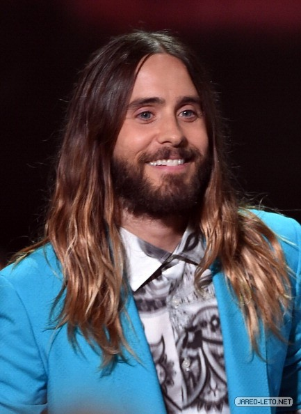 Jared on the Red Carpet at 2014 iHeartRadio Music Awards