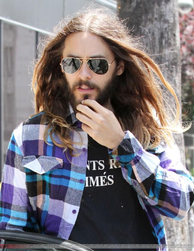 Jared de paseo en LA ayer