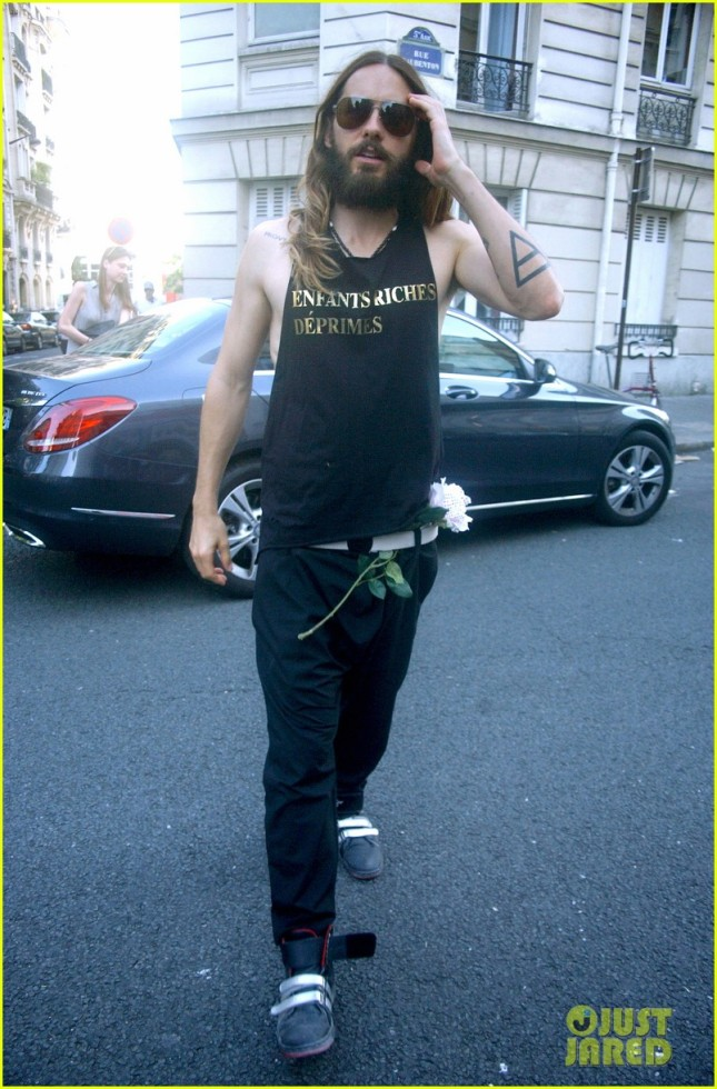 JARED LETO - Paris - 16 Julio 2014