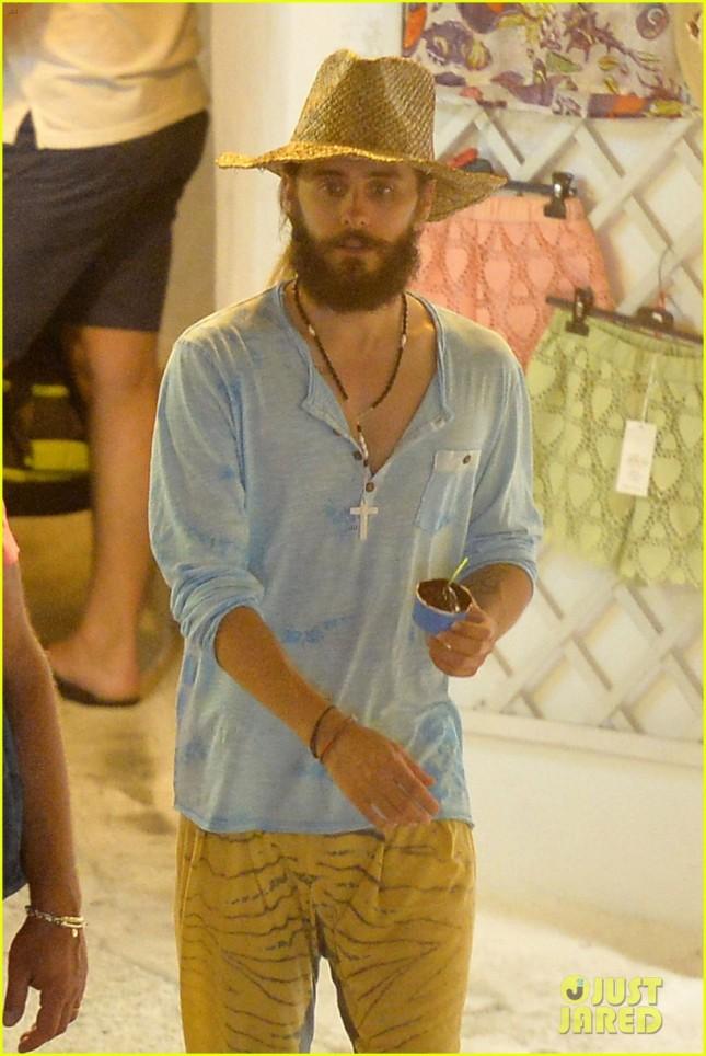 Jared y Shannon en Ponza, Italia - 27 Julio 2014