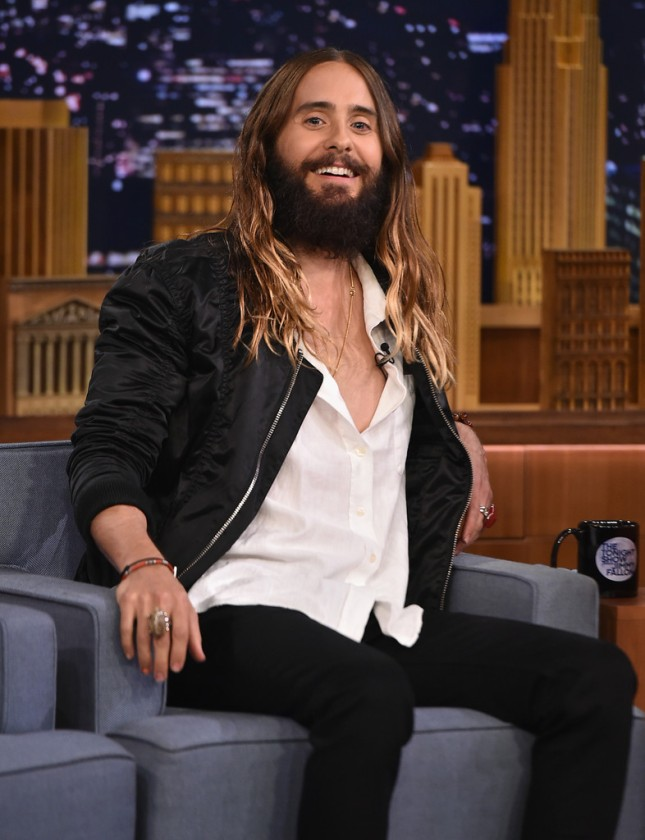 Jared Leto - The Tonight Show' with Jimmy Fallon - 20 Agosto 2014