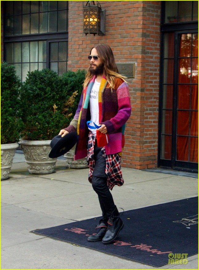 Jared Leto en New York - 15 Agosto 2014