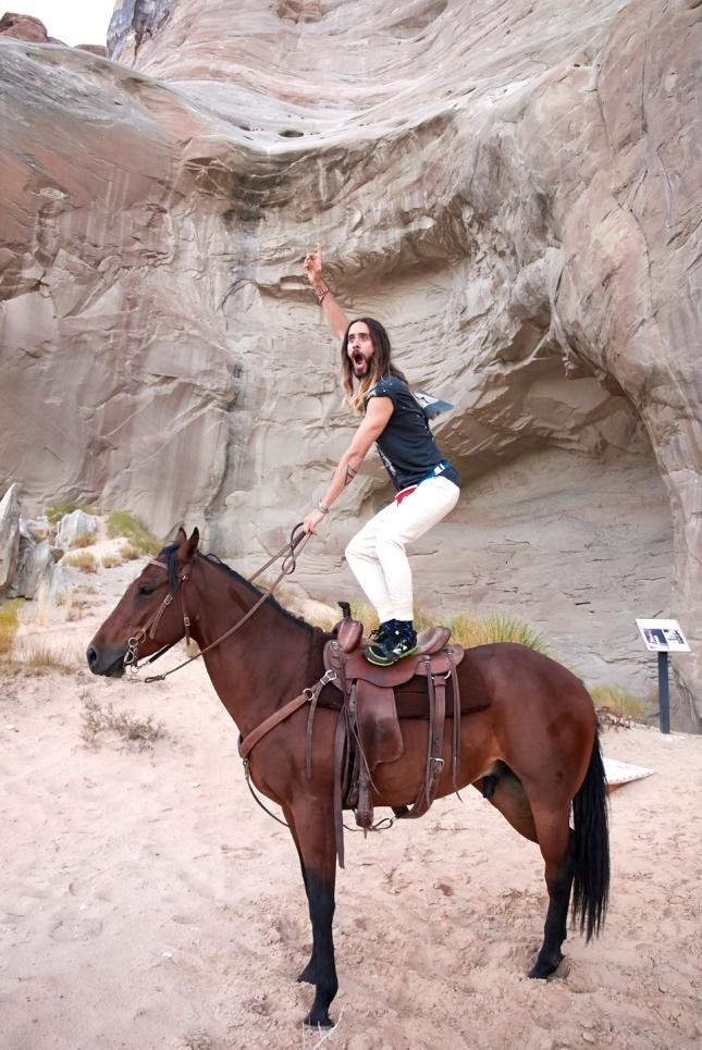 Jared Leto  por Terry Richardson
