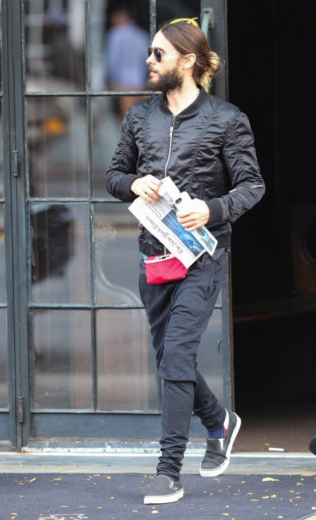 Jared Leto en  New York - 29 Oct 2014
