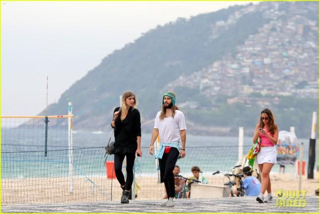 Jared Leto en Rio de Janeiro - 20 Oct 20141