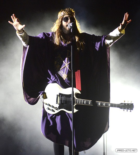 30 Seconds to Mars at Voodoo Music + Arts Experience, New Orleans - 01 Nov 2014
