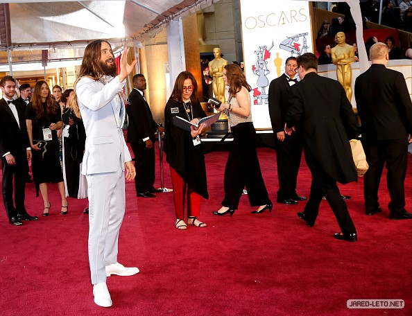 87th Annual Academy Awards - Arrivals - 22 Feb 20152