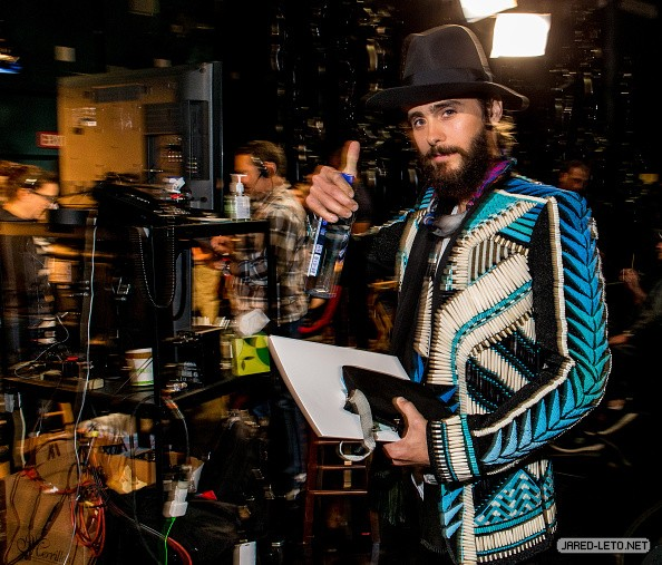 Backstage at Oscar Rehearsals - 21 Feb 20151