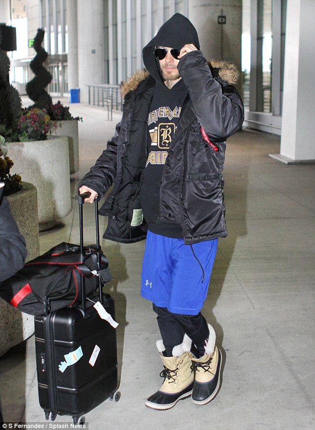 At Toronto Airport - 05 April 20153