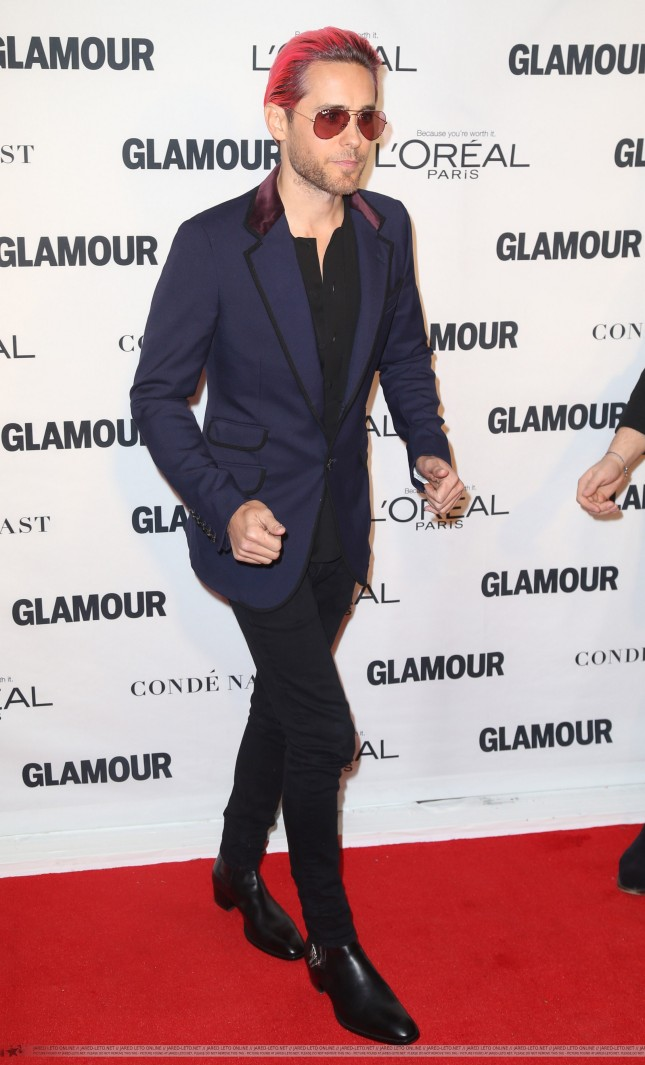Jared at Glamour's 25th Anniversary Women Of The Year Awards2