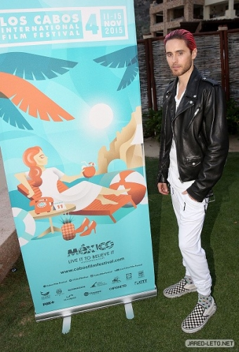Jared at The 4th Annual Los Cabos International Film Festival Opening Night Gala – Pics1