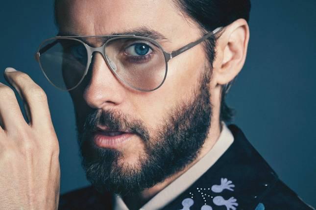 Jared Leto Gucci,  Dolce & Gabbana y gafas Carrera